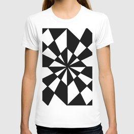 optical pattern 19 T-shirt