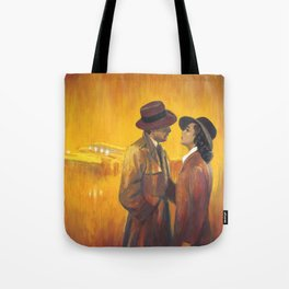 Casablanca film poster - The End Tote Bag
