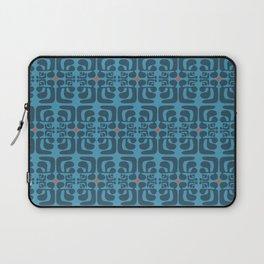 mod blue waves Laptop Sleeve