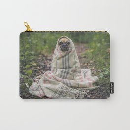 Dog in nature Carry-All Pouch