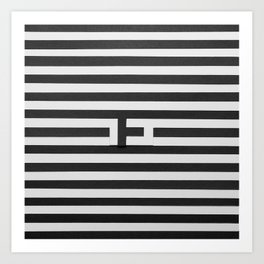 synthesis — e Art Print
