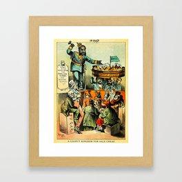 A Liliput Kingdom For Sale Cheap Framed Art Print