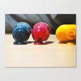 Nail art - color spa Canvas Print