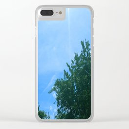 Brighter Days Clear iPhone Case