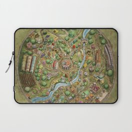 Astranella Map Laptop Sleeve