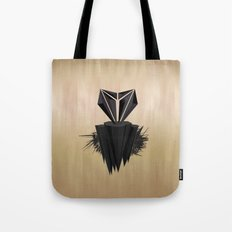 Black Love Tote Bag