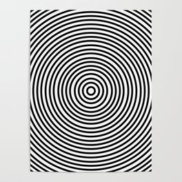 Ever Decreasing Circles Poster