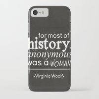 anonymous iPhone & iPod Cases featuring Anonymous by Sierra Seifert