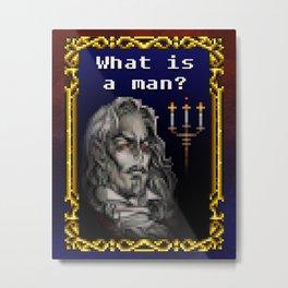 Dracula Jeopardy Metal Print