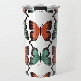 Butter - colorful butterfly pattern Travel Mug