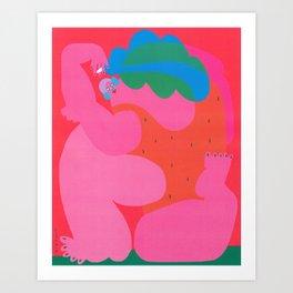 Amber Vittoria x Dope Girls Art Print