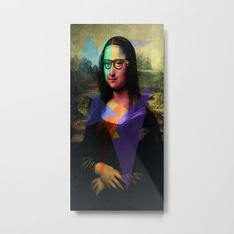 La Mona Hipsta Metal Print