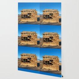Desert Shack Wallpaper