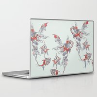 huebucket Laptop & iPad Skins featuring Floating in Deep by Huebucket