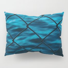 Fence and sea Pillow Sham