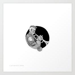 2017 Inktober #11 Art Print