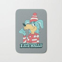 I ATE WALLY Bath Mat