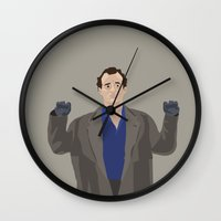 murray Wall Clocks featuring Bill Murray by LISACYO