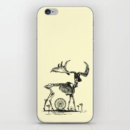 Gas Mask Deer iPhone Skin