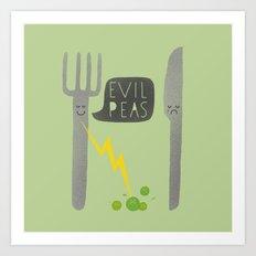 Fork Lightning Art Print