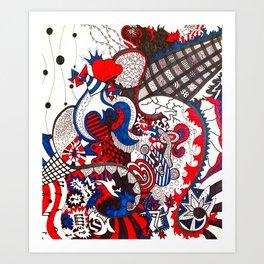 Josh Art Print