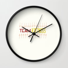 Team Katniss Wall Clock
