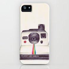 Ballpoint Pen Polaroid iPhone (5, 5s) Slim Case