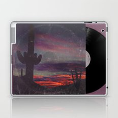 Darkness In The Desert - America As Vintage Album Art Laptop & iPad Skin