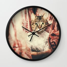 The Butcher Wall Clock