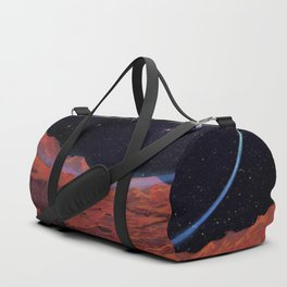 Blues of outer space Duffle Bag