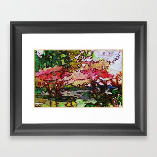 Cherry Blossom Time Framed Art Print