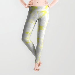 yellow and Grey Leggings