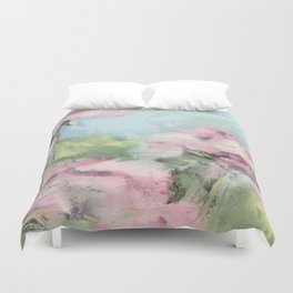 geraniums Duvet Cover