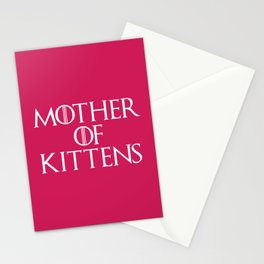 Mother Of Kittens Funny Quote Stationery Cards