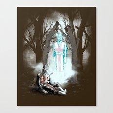 The Fallen Templar Canvas Print