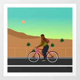 Bikes, Buses, Subways Art Print