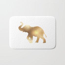 Gold Elephant Bath Mat