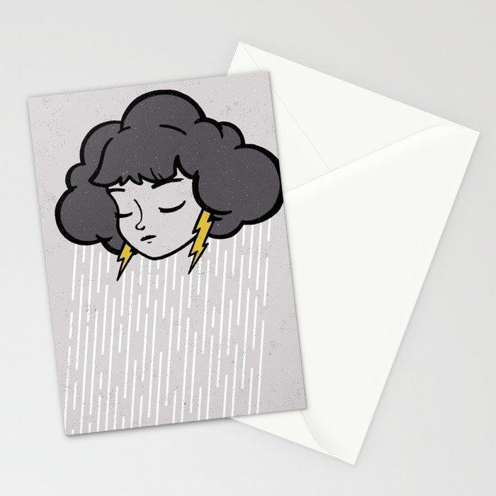 Rainy Days Stationery Cards