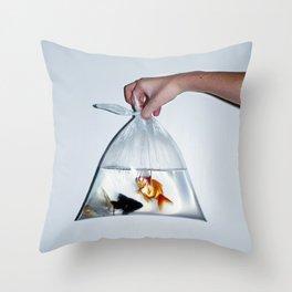 Fish. Throw Pillow