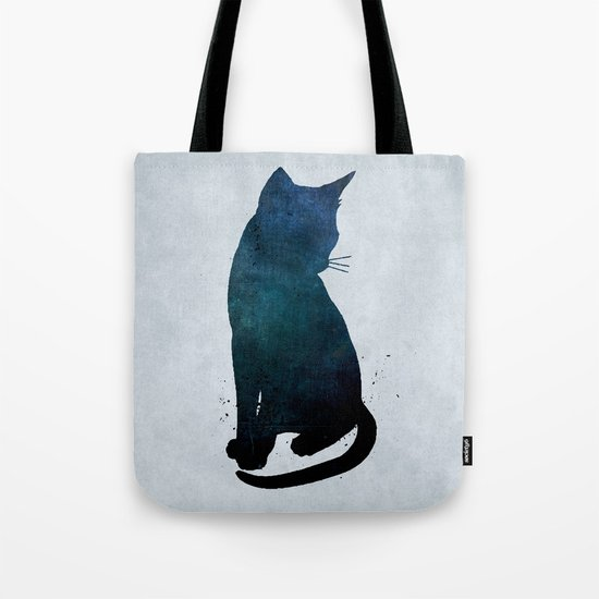 Dark Cat Tote Bag