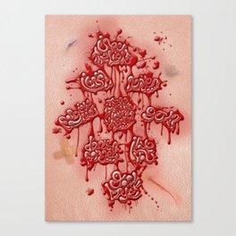 Last Words Canvas Print