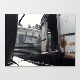 Tex's Train Canvas Print