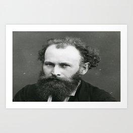 Portrait of Manet by Nadar Art Print