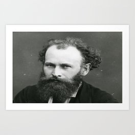 Portrait of Manet by Nadar Art Print
