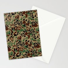 Pug Camouflage Stationery Cards