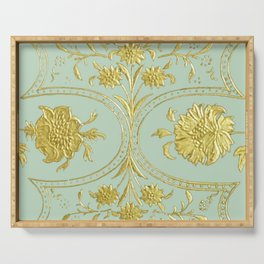 sunshine over versailles Serving Tray