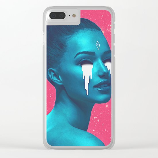 star dreams Clear iPhone Case