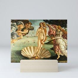 Sandro Botticelli The Birth Of Venus Mini Art Print