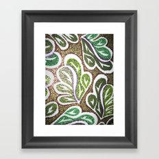 Leaves 3 Framed Art Print