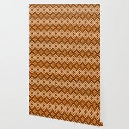 Woven Sienna Wallpaper